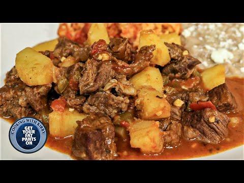 Carne Guisado con papas – Mexican Beef Stew – Mexican Food