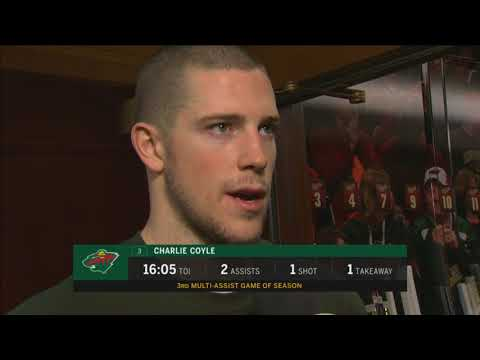 "Minnesota Wild's Charlie Coyle: ""It's a good feeling"""
