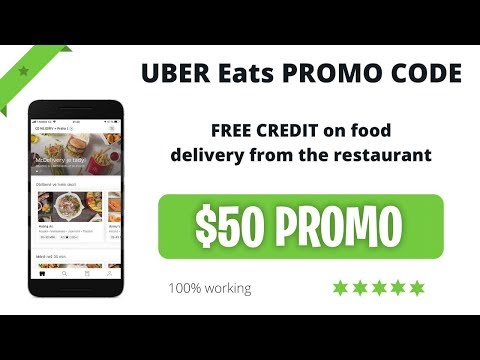 FREE Uber Eats Promo Code ✅ How To Eat For Free - Uber Eats Coupon And Voucher 🍔