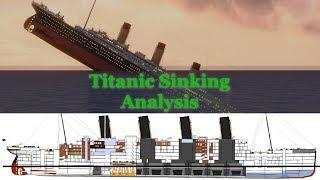 Titanic Sinking Analysis Comparisons