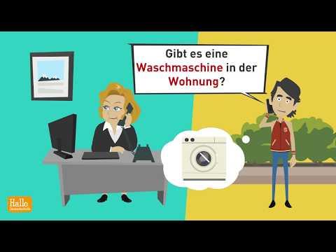 Deutsch lernen B1, B2 / Zweiteilige Konnektoren / Satzstellung / einen Termin vereinbaren