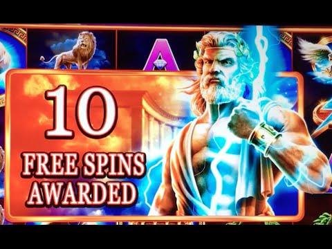 *NEW* ZEUS - Son of Kronos $6:MAX ✦Live Play✦ Slot Machine at San Manuel in SoCal