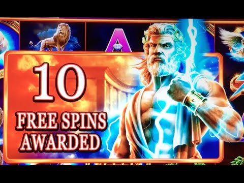 *NEW* ZEUS - Son of Kronos $6:MAX ✦Live Play✦ Slot Machine at San Manuel in SoCal