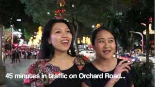 Christmas lights at Orchard Road Singapore!
