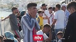 Griechenland bringt Flüchtlinge aufs Festland | n-tv