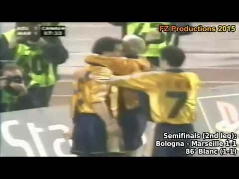 1998-1999 Uefa Cup: Olympique De Marseille All Goals (Road to the Final)