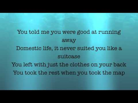 The Lumineers- The Dead Sea [LYRICS ON SCREEN]