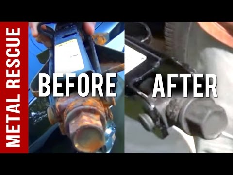 DIY Rust Remover How to Remove Rust From A Metal Car Part
