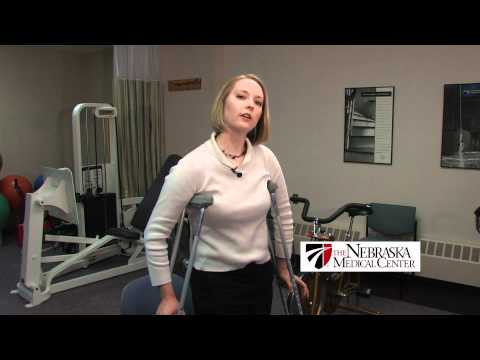 How To Use Crutches Properly The Nebraska Medical Center