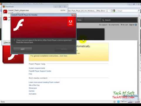 Free Download and Install Flash Player in Windows 7 - YouTube