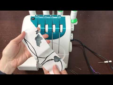 Janome Machine Series: Four DLB Serger Stitch Programs & Project Inspiration