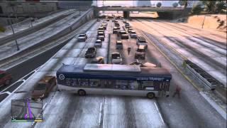 GTA 5 BIGGEST CHAIN CAR EXPLOSION 20 CARS PLUS