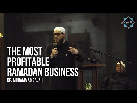 The Most Profitable Ramadan Business - Dr. Muhammad Salah ᴴᴰ