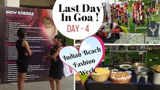 Tamil Travel Vlog |Holiday in Goa - Part 4 | Indian Beach Fashion Week| Window Shopping Fun in Tamil