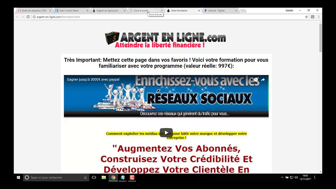 7f5aacecf6d509 Travail à Domicile Facile et Rémunérateur - YouTube