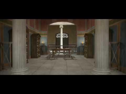Teatro Marítimo, Villa Adriana 3d / Virtual Maritime Theatre, Hadrian's Villa