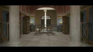 Teatro Marítimo, Villa Adriana 3d / Virtual Maritime Theatre, Hadrian