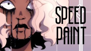 Good Omens Speedpaint | Pollution - You Should See Me In A Crown