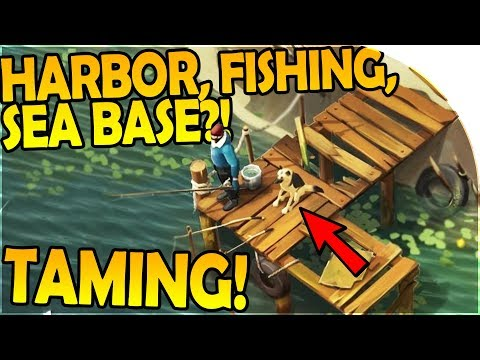 NEW HARBOR + FISHING + SEA BASE?!- TAMING UPDATE INBOUND - Last Day On Earth Survival 1.5.9 Update