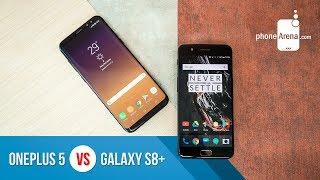 OnePlus 5 vs Samsung Galaxy S8+