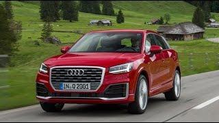 Audi Q2 \ Ауди Ку 2 обзор 2016.  Тест-драйв.  Test Drive