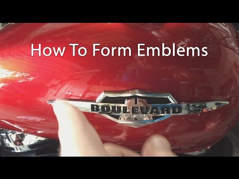 How To Form Motorcycle Emblems