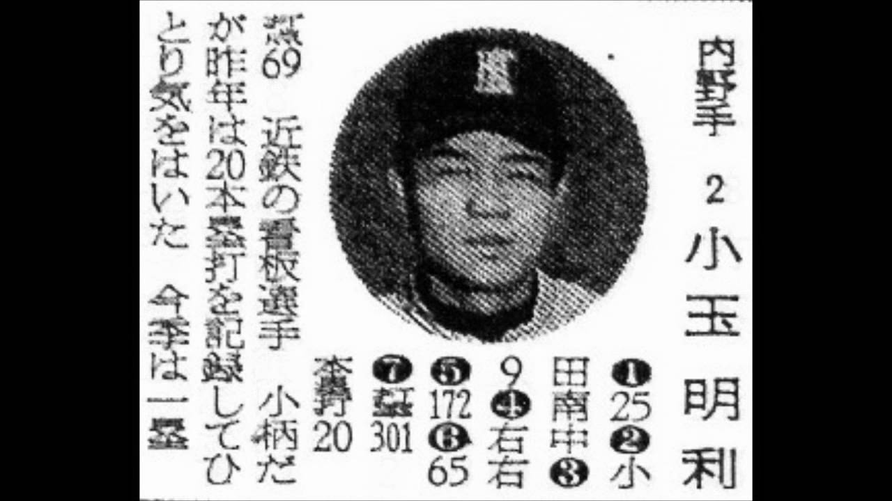 1961年 近鉄バファロー 選手名鑑...