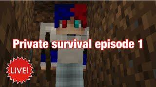 My Private Survival World #1 :D (Minecraft Pe)