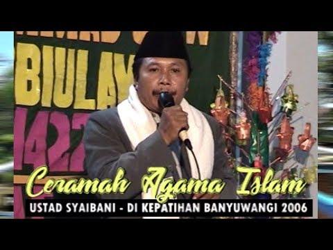 Ceramah Lucu Ustad Syaibani di Kepatihan Banyuwangi Tahun 2006