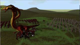 Test Battle in new RTS engine