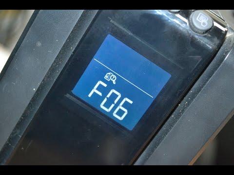 APC Ошибка F06 проявление неисправности