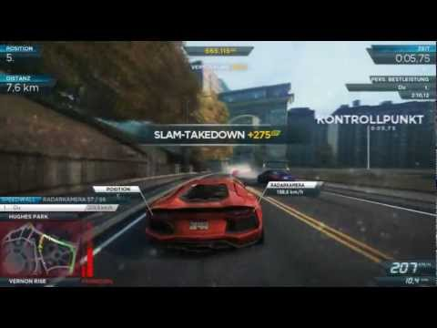 Need For Speed Most Wanted 2 (2012) - Lamborghini Aventador - #1 Park and Country