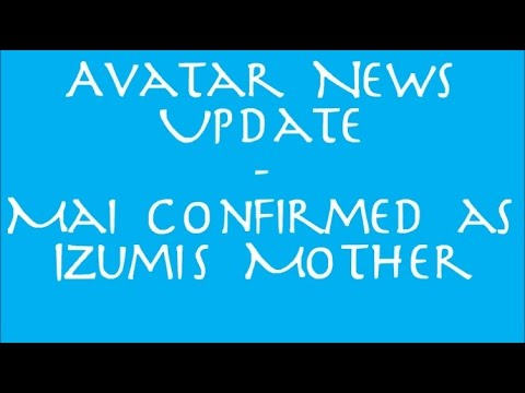 Avatar News Update - Mai and Zuko confirmed to get back together