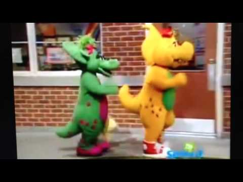 Baby Bop and BJ leave from Play for Exercise  YouTube