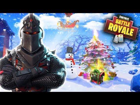 Fortnite Christmas Update - New Snowball Launcher, Skins & More! (Fortnite Battle Royale Update)
