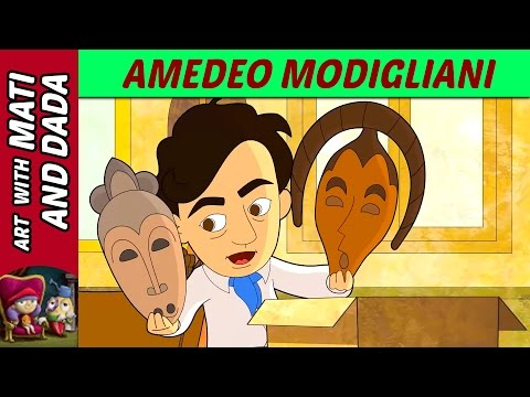 art-with-mati-and-dada-–-amedeo-modigliani-|-kids-animated-short-stories-in-english