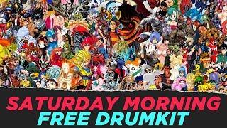 Kostenlose Schlagzeug Samstag Morgen Cartoons Drumkit FREE DL