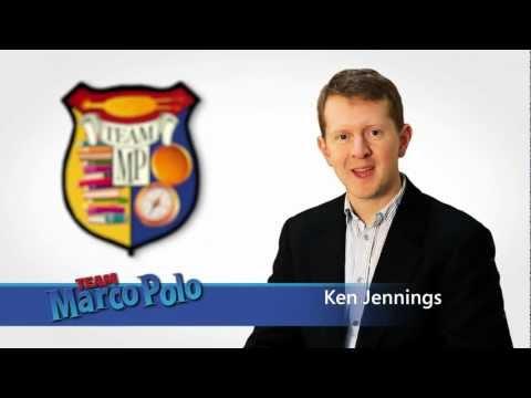 All Time Jeopardy Winner Ken Jennings Rocks a Marco Polo Promo!