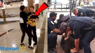 GUY PUNCHED ME IN WALMART! (Security Called)
