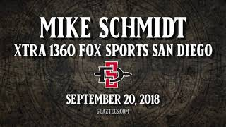 SDSU FOOTBALL: MIKE SCHMIDT - XTRA 1360 FOX SPORTS SAN DIEGO