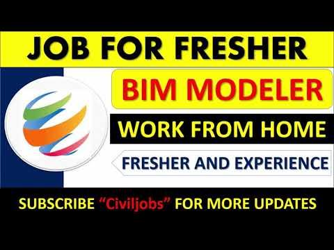 BIM Modeler Job
