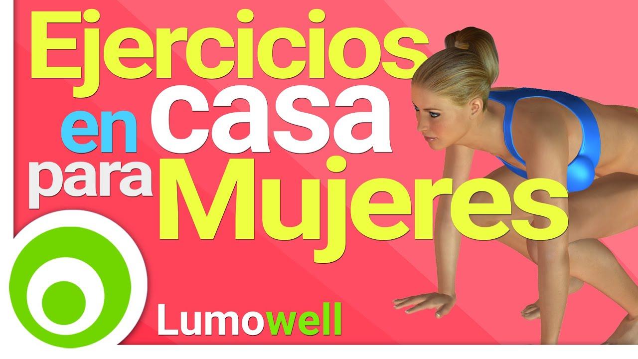 Rutina de ejercicios para quemar grasa y tonificar en casa