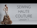 Premium Dress | How to sew Haute Couture Fashion Dress DIY #1