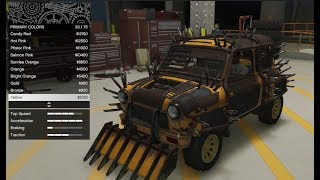 GTA 5 - Arena War DLC Vehicle Customization - Apocalypse Issi (Mad Max Mini) and Review