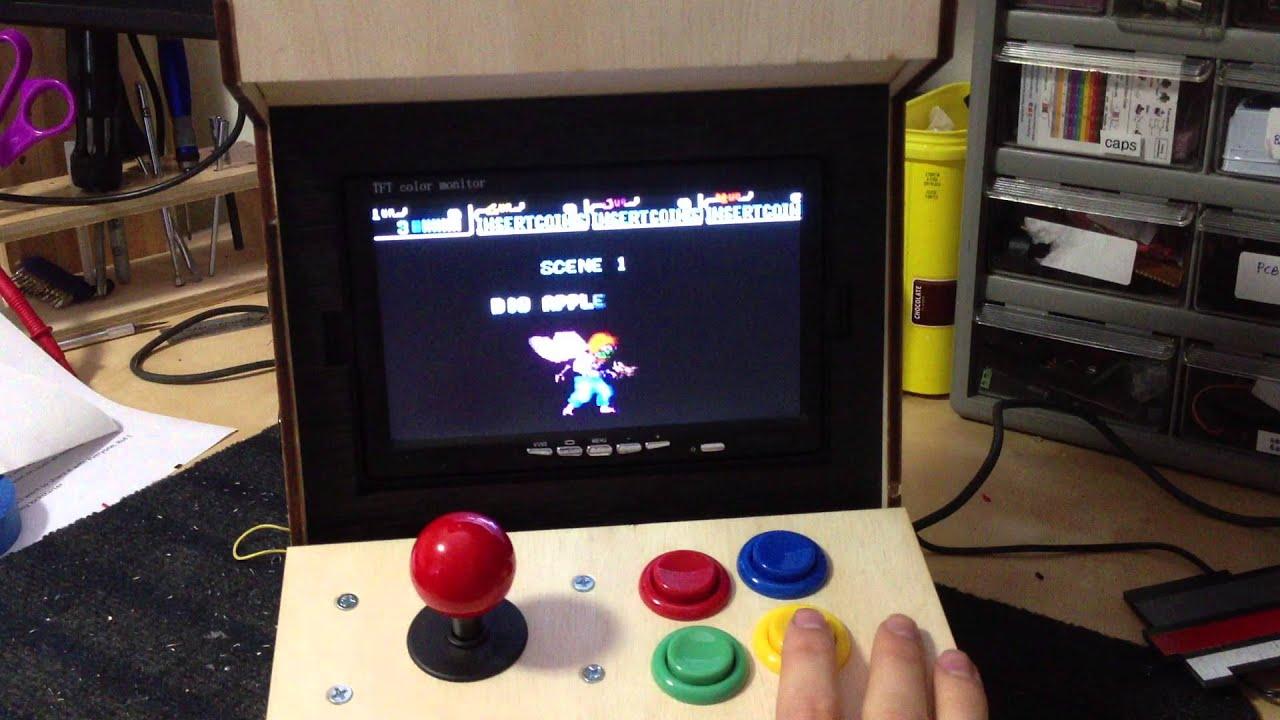 4883ea785909b Porta Pi  DIY Mini Arcade Demo play - YouTube