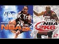 EVERY NBA 2K TRAILER FROM NBA2K TO NBA2K6