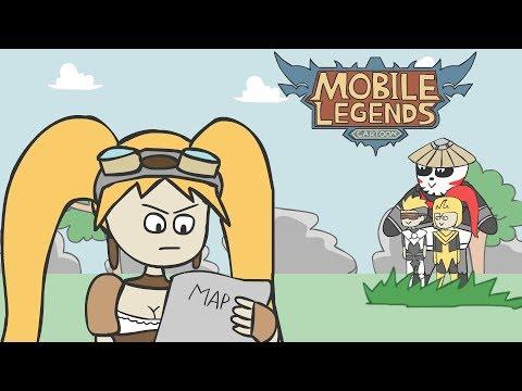 94 Foto Gambar Kartun Lucu Hero Mobile Legend Terbaik