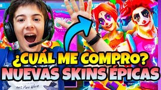 BUYING NEW BLOOD SKINS OF FORTNITE DULCES DREAMS AND CUCU LIVE