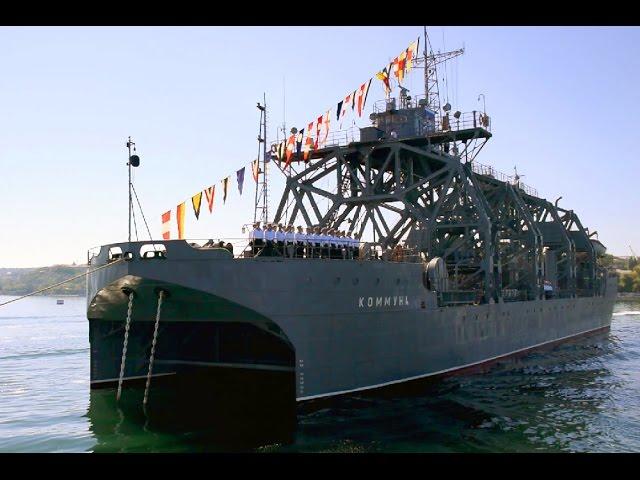 Военный катамаран «Коммуна» снова в боевом строю ВМФ РФ