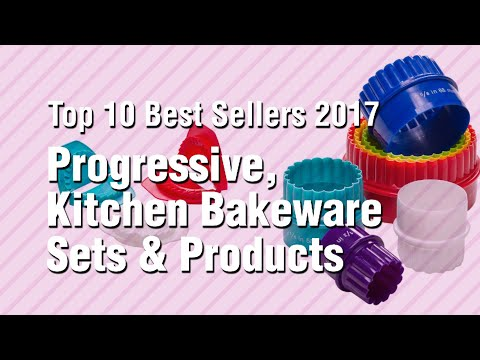 Progressive, Kitchen Bakeware Sets & Products // Top 10 Best Sellers 2017